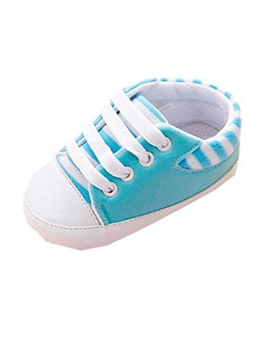 Baby Schuhe, Switchali Neugeborene Segeltuch Schuh Turnschuhe Soft Sole SchuheGirls Anti-Rutsch Kleinkind Prewalker für 0-12 Monat Hellblau