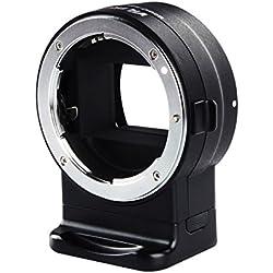 VILTROX NF-E1 AF Adaptateur d'objectif pour Nikon F Monture d'objectif pour Sony A6300 A6500 A9 A7II A7III A7R A7RII A7RIII