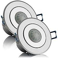 Bewegungsmelder Aufputzmontage LED geeignet für Innenräume 360° 1-1000W IP20