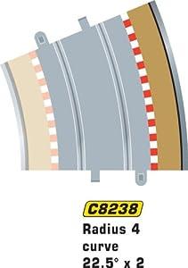 Super Slot 500008238 - EXTRANJEROS FAHRBAHNBEGRAD 8235 4X, Rennbahnhzubehör Importado de Alemania