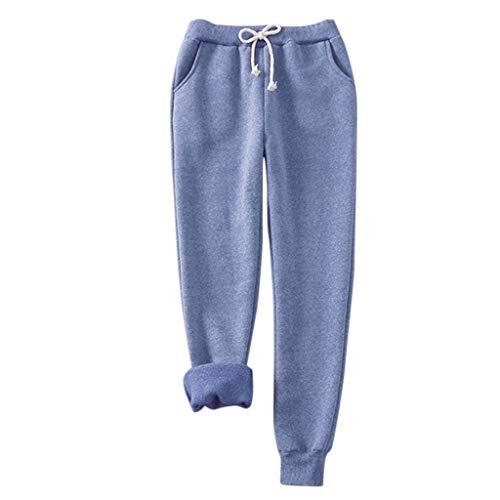 ➤Refill➤2020 Damen Hosen Sporthose Casual Streifen Sweathose Elastischer Bund Jogginghose mit Taschen