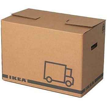 ikea j ttene cartons de d m nagement marron lot de 10. Black Bedroom Furniture Sets. Home Design Ideas