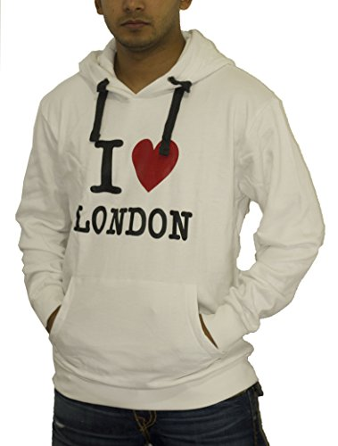 I Love London Cotton Hoodie Sweatshirt Unisex Premium for sale  Delivered anywhere in Ireland
