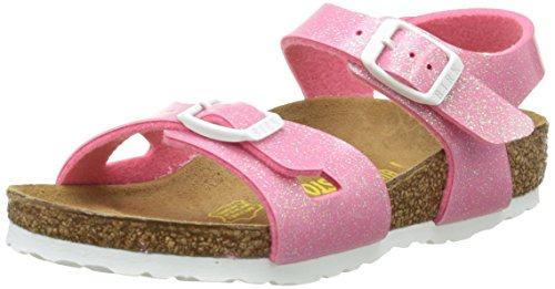 Birkenstock Rio Unisex-Kinder Sandalen, Pink (Magic Galaxy Pink), 39 EU (6 UK)