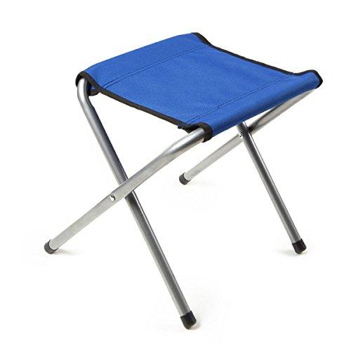 LDFN Klappstuhl Von Outdoor-stuhl Camping Freizeit Angeln Strand Tragbare Stuhl Skizze Stuhl,Blue-28*25*34cm