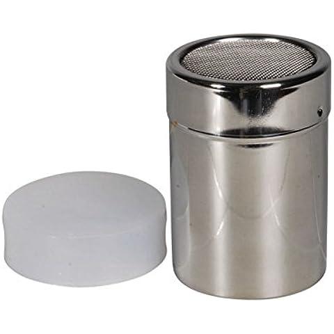 Sugar Dispenser per zucchero a rotelle, Spargi zucchero, in acciaio