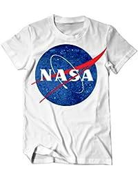 NASA Logo Weltraumbehörde T-Shirt Herren