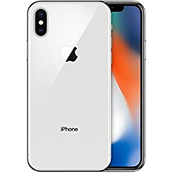 Apple iPhone X - Smartphone con Pantalla DE 14,7 cm, 64 GB, Plata