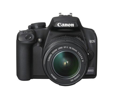 Kit Canon EOS 1000D mit Objektiv EF-S 18-55mm f/3.5-5.6(Nicht is) (UK-Import) -