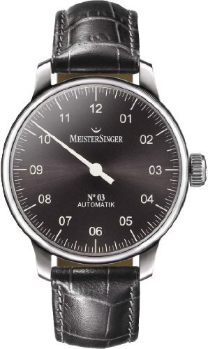 Mens Meistersinger No 03 Automatic Watch AM907