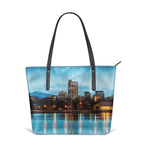 xcvgcxcbaoabo Mode Handtaschen Einkaufstasche Top Griff Umhängetaschen Women's Stylish Casual Tote Bag Travel Bags - Denver Shoulder Bags