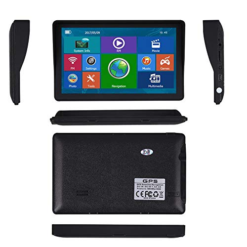 Sponsi 7 Zoll Auto Navigator Portable GPS HD Touchscreen Radio RAM128MB-ROM8G GPS Satellit Navigator