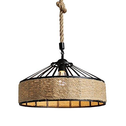 Deckenleuchte, Retro Industrie Eisen Vintage Loft Deckenleuchte Kronleuchter Pendelleuchte Leuchte