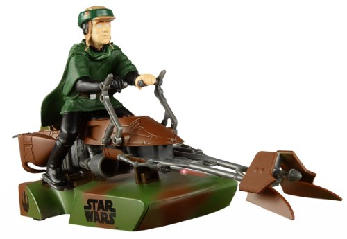 Scalextric - SCA3298 - Véhicule Miniature et Circuit - Star Wars Speeder Bike - Luke Skywalber