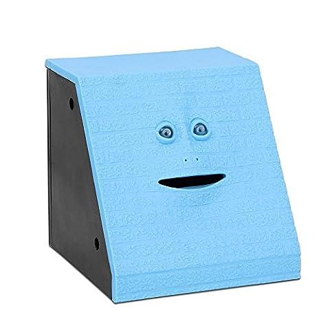 Vintank Face Bank Münze Essen Sparkasse automatisierte Geld sparen Box
