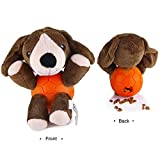 EETOYS Hundespielzeug Vielseitiges Plüschspielzeug in Tierfigur mit Quietschies