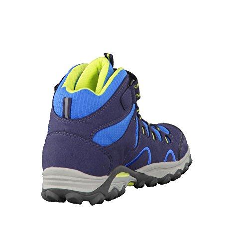Meindl  2099-29 Lucca Junior Mid,  Scarponcini da camminata ed escursionismo ragazzo Jeans/Lemon