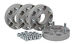Spurverbreiterung Aluminium 4 Stück (30 mm pro Scheibe / 60 mm pro Achse) inkl. TÜV-Teilegutachten