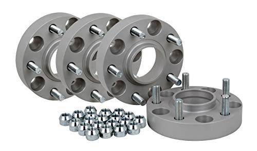Spurverbreiterung Aluminium 4 Stück (30 mm pro Scheibe / 60 mm pro Achse) incl. TÜV-Teilegutachten -