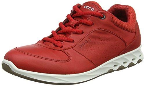 Ecco Wayfly de Chaussures Tomato Randonnée Femme Basses Rouge rfrxvnwqOd