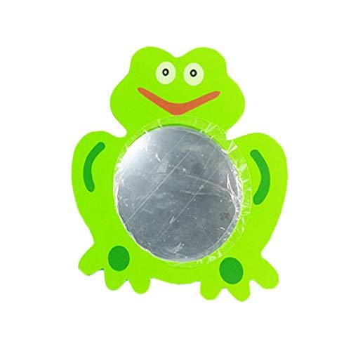 Toyvian Espejo de baño de Juguete Rana Verde Kid Cartoon Water Toy para niños niños