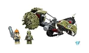 Lego Legends Of Chima - Playthèmes - 70001 - Jeu de Construction - La Croc Griffeuse de Crawley