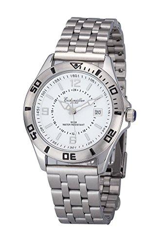 Orologio da polso Eichmüller 3210-02 orologio in acciaio inox