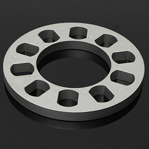 HELEISH 5 Stud Universal Alloy Steel Spurverbreiterungen Dichtung Shim 13mm Dicke Motorradzubehör - Universal Stud
