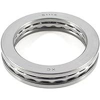 TOOGOO(R) 95 mm x 70 mm x 18 mm Auto cierre magnetico axiales de empuje rodamientos de bola 51114