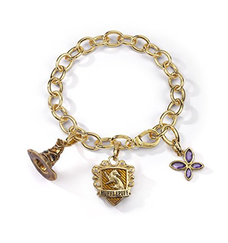 Noble Collection nn7714 – Harry Potter pulsera Cuervo Lumos tassorosso