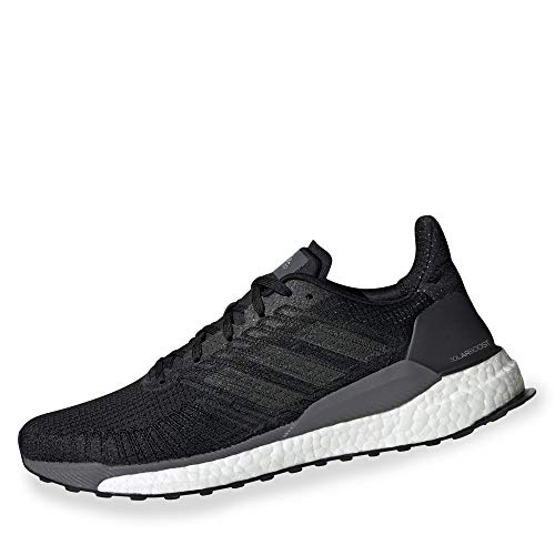 adidas CORE Men Solar Boost 19 M Running Schuh EF1413 cblack/Carbon/grefiv 42 2/3 - Schuhe Männer Für Running