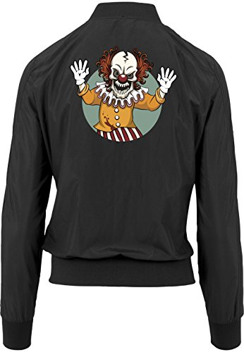 Evil Clown Bomberjacke Girls Black Certified Freak-M