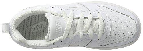 Blanc Fille EU Chaussures Basketball Sport Wmns Blanc Blanc de Nike Blanc Blanc Borough Court 36 Low POIn80A