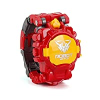 MOGOI Transformer Toy Robot Watch, Robots Watch Toys For Kids,2 In 1 Deformation Robot Toys For Boys And Girls, Digital Electronic Watch For School,#6