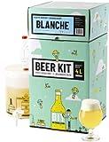 Ce Beer Kit débutant vous permet de brasser votre propre bière blanche à la maison. Le brassage à partir d'extrait de malt en poudre vous permet d'avoir 100% de chance de réussir votre bière et d'entrer dans le monde du brassage en toute tranquilité....