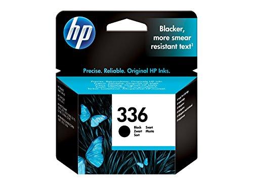 Original HP 336 C9362E Tintenpatrone Schwarz Deskjet / PSC/ Photosmart/ Officejet druken -(Frustfreie Verpackung) - Folie verschweißt Tinte