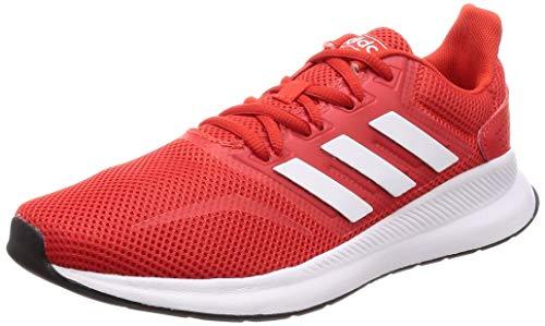 Adidas Runfalcon, Zapatillas de Trail Running para Hombre, (Rojact/Ftwbla/Negbás 000), 46 2/3 EU