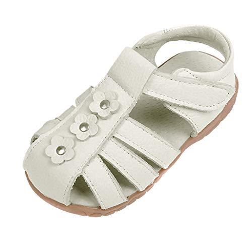Pingtr - Babyschuhe Weicher Leder Krabbelschuhe Kleinkind,Kinder Mädchen Leder Freizeitschuhe tragen Flache Rutschfeste Sandalen