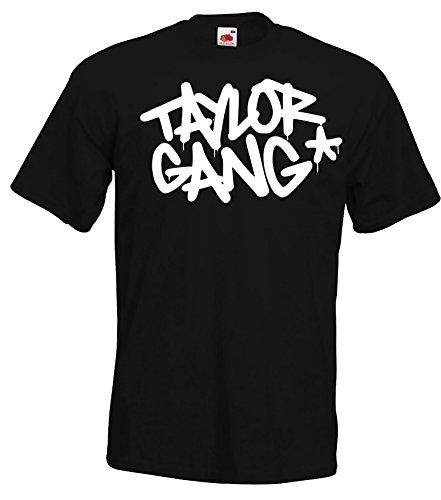Preisvergleich Produktbild TRVPPY Herren T-Shirt Modell Taylor Gang Wiz Khalifa,  Schwarz,  XXL