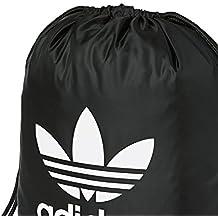 adidas Gymsack Trefoil Bolsa de Gimnasio, Unisex Adulto, Negro (Negro), NS