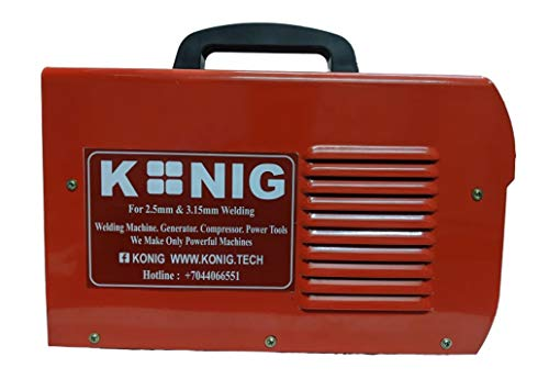 KONIG Inverter Based Single Phase ARC Welding Machine(ARC 200N MMA 200A 1phase) with Welding Cable, Holder and Clamp