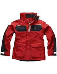 Gill Junior Coast Jacket Red/Graphite IN12JJ