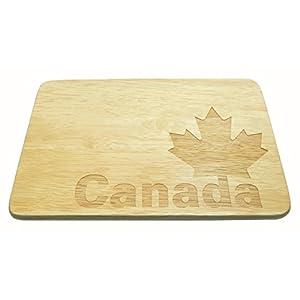 Frühstücksbrett Canada Brotbrett Kanada Gravur