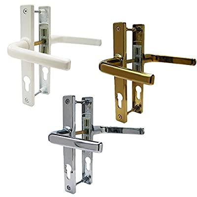 Ferco 70MM UPVC Door Handle / Lever Lever Pair. Sprung 180mm Centres - cheap UK door handle shop.
