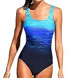 Luckycat Mujer Traje de Baño de Una Pieza Push Up Bañadores Bañador Monokini Ropa de Baño