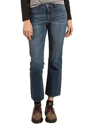Volcom 1991Straight Jeans, Damen, Damen, B1931701_5, Blau (Road Sky), 38 -