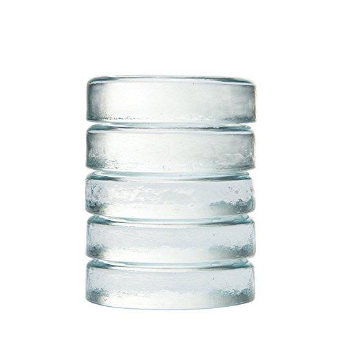 5er Set Glas-Gewichte zur Fermentation von Sauerkraut, Kimchi, Gurken usw. Beschwerungsstein von Fairment (Was Ist Chi)