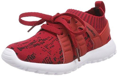 KangaROOS Unisex-Kinder K-Sock Sneaker, Rot (Tango Red/Velvet Red), 35 EU (Rot Mädchen Sneakers)