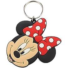 Disney Llavero caucho Minnie Mouse 6 cm