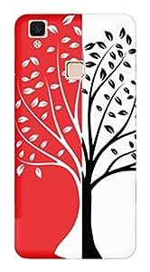 TrilMil Printed Designer Mobile Case Back Cover For Vivo V3 Max